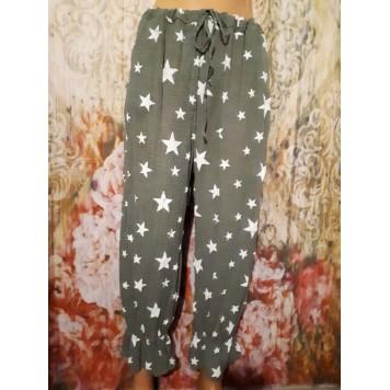 Panty voile de coton STARS...