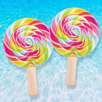 INTEX Matelas Gonflable Sucette Lollipop Géante