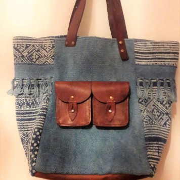 ELIE Sac Cabas P. ANGLES DESIGN...
