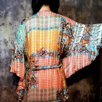 Robe longue MINKA imprimé...
