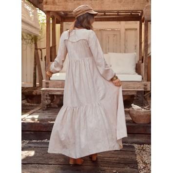 Robe Longue Bohème ALYSHA coton marque JAASE
