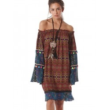 Robe Courte TZINGA 1 imprimé YACAMIM
