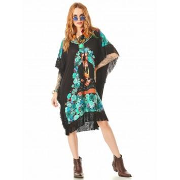Robe Tunique Bohème Chic FRIDA K marque YACAMIM