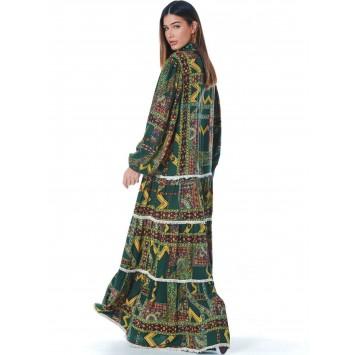 Robe longue LORELEI style hippie chic marque YACAMIM