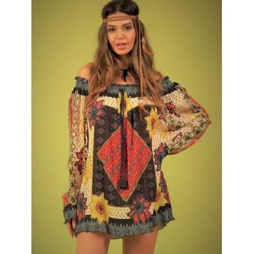 Blouse SOLENA hippie chic marque...